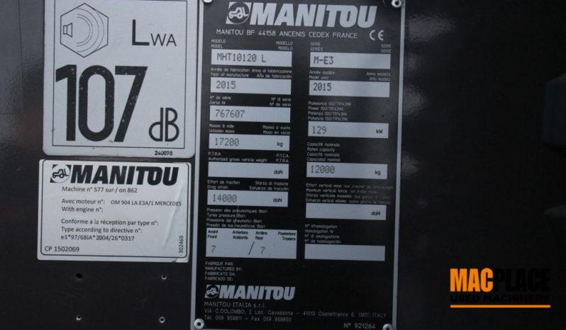 Manitou Mht 10120 L full
