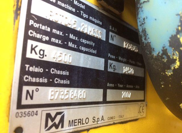 Merlo roto 45.21 MCSS full